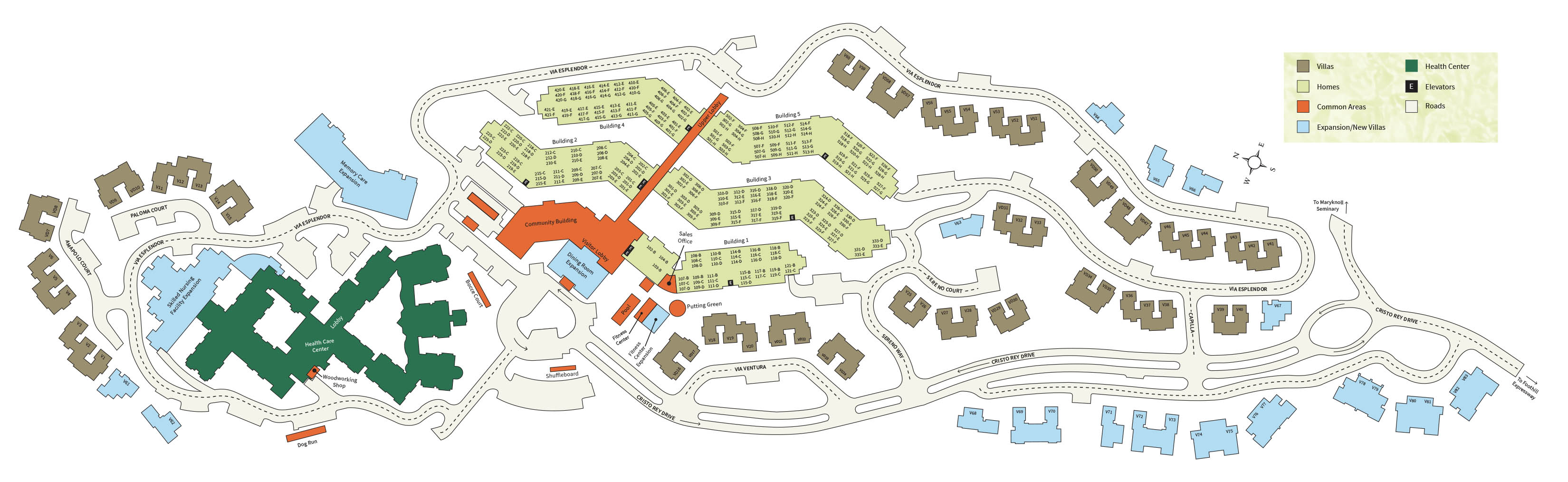 The Forum Senior Living Floor Plans