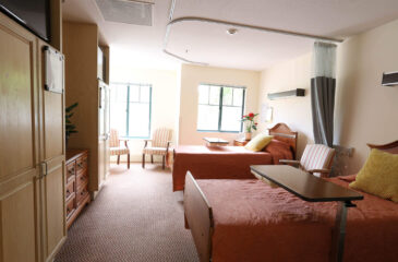 semi private suite